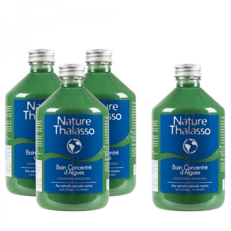 Pack 3 Bain Concentré d'Algues 500 ml, le 4ème offert !